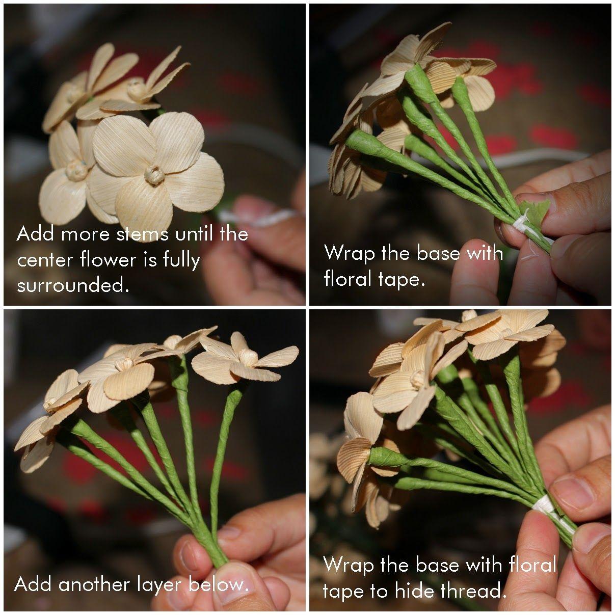 5 Jpg 1207 1207 Flores De Juta Como Fazer Flores Palha De Milho