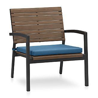 Rocha Lounge Chair With Sunbrella 174 Cushion Patio
