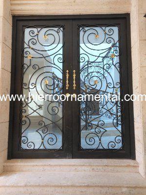 Puerta de hierro forjado Detalle producto | ideas para la casa ...