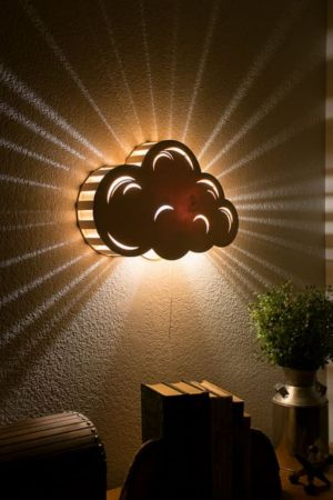 Get Inspired To Create An Unique Bedroom Design For Children With These Lighting Inspirations Cloud Night Light Night Light Kids Cloud Wall Hanging