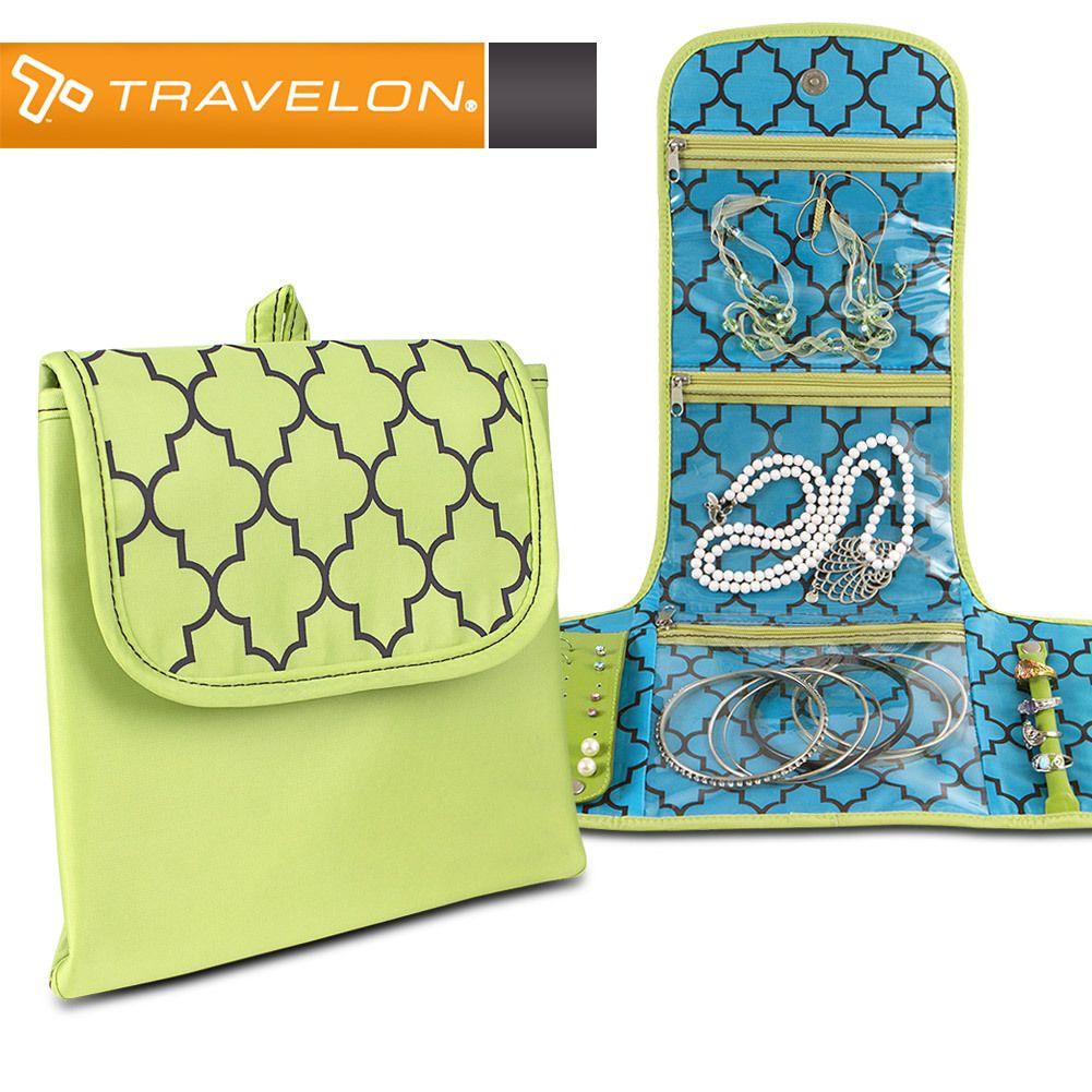 Travelon Folding Jewelry Organizer 1079 Toiletry Jewelry Bags