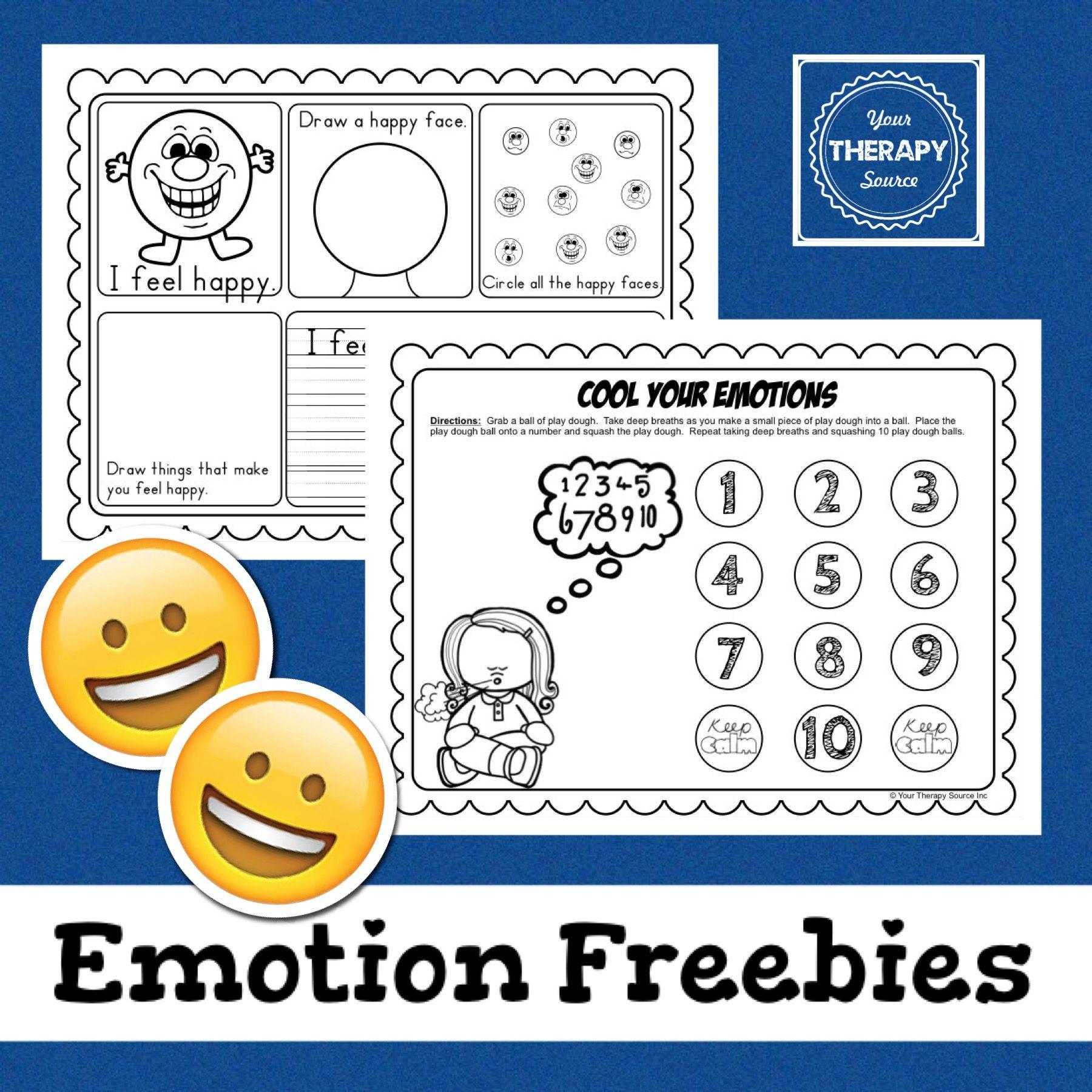 Emotions Freebie