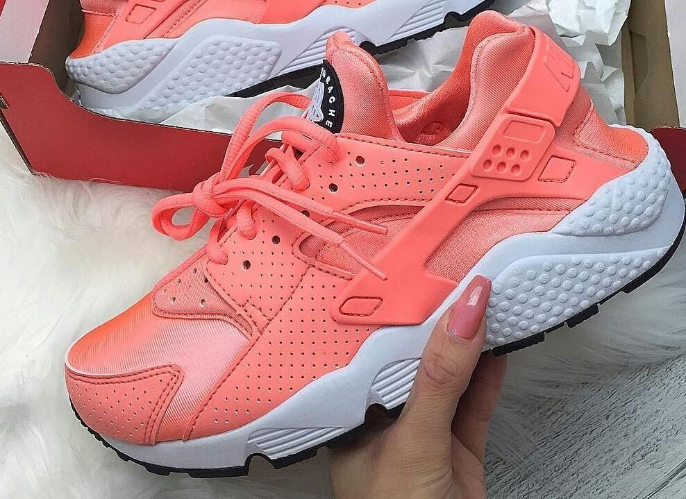differently 368e9 f0f4b Nike Huaraches Peach Colour