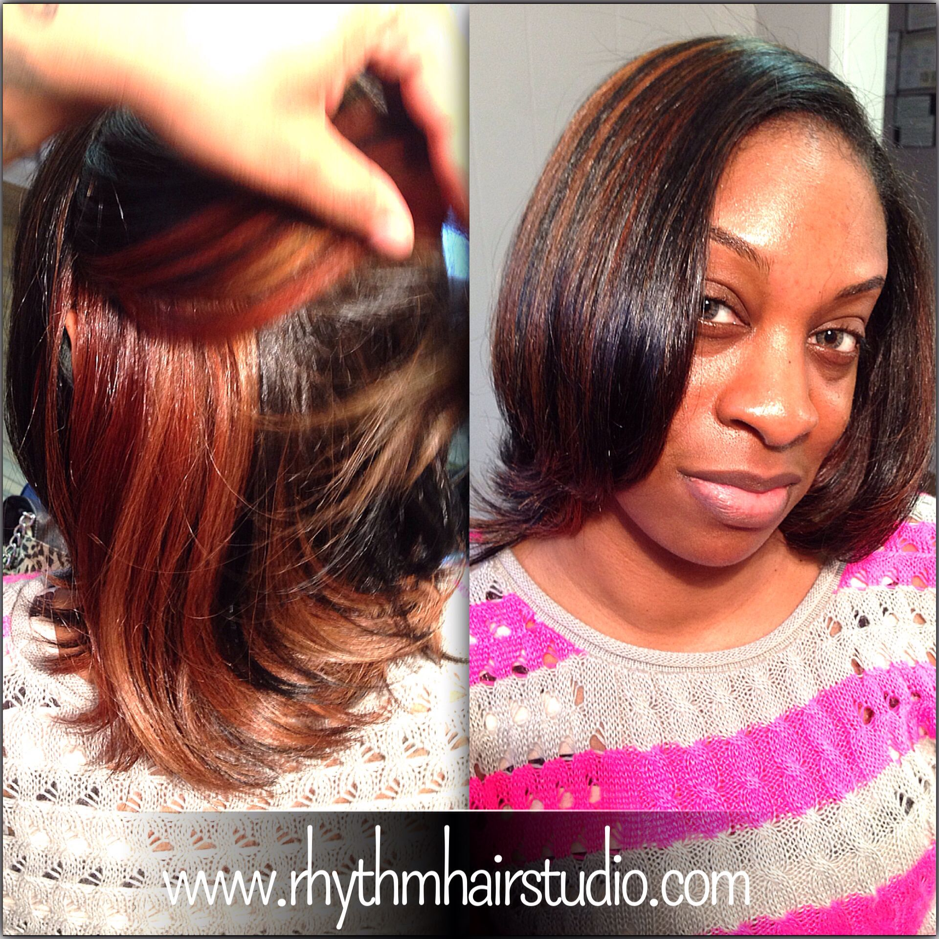 Peekaboo Color On Natural Hair Natural Hair Color Healthy Hair Natural Hair Styles