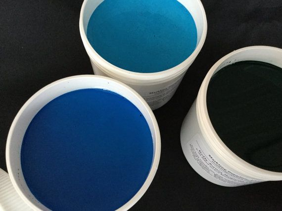 Large Size Ready Made Marbling Paint Single Jars 6 Oz In 30 Colors Marbled Paper Marbling Supplies With Instructions Tips Mint Chip Ice Cream Marble Paper Marbling Kit