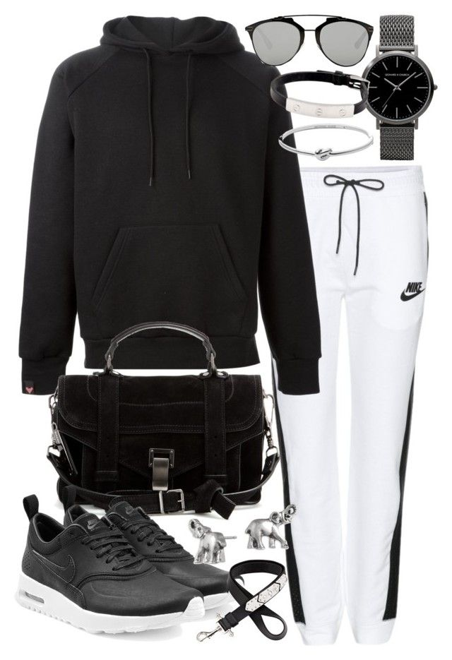 """Untitled #19560"" by florencia95 ❤ liked on Polyvore featuring NIKE, SWEAR, Christian Dior, Michael Kors, Cartier, Proenza Schouler, Lonna & Lilly, Givenchy, women's clothing and women"