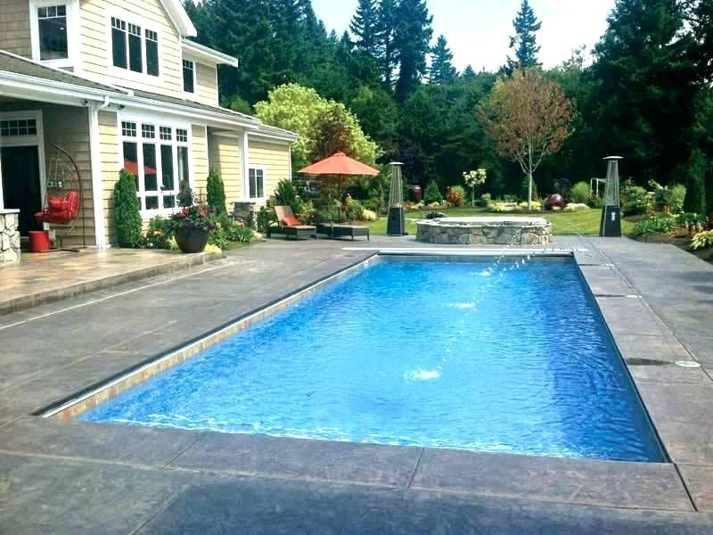 Standard Inground Pool Size Average Pool Size Gallons In Ground