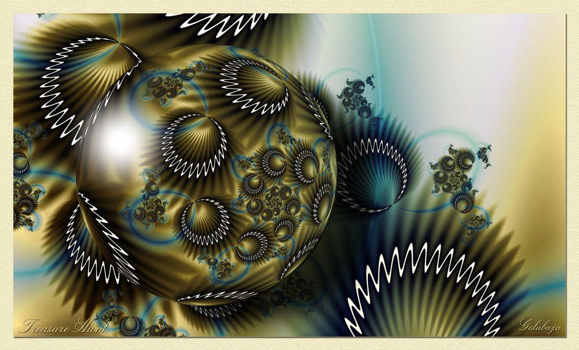 Fractal art | Golubaja via deviantART - http://golubaja.deviantart.com/art/Treasure-Hunt-295448590