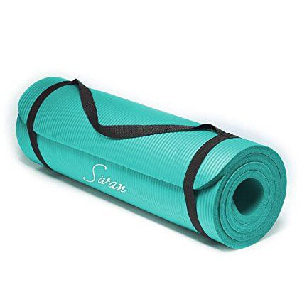 Sivan Health And Fitness 1 2 Inchextra Thick 71 Inch Long Nbr Comfort Foam Yoga Mat For Exercise Yoga And Pilates Yoga Mats Best Best Yoga Yoga Mat Reviews