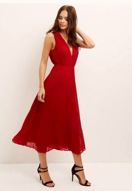 Christmas Red Dresses Ideas 2017 - Miladies.net