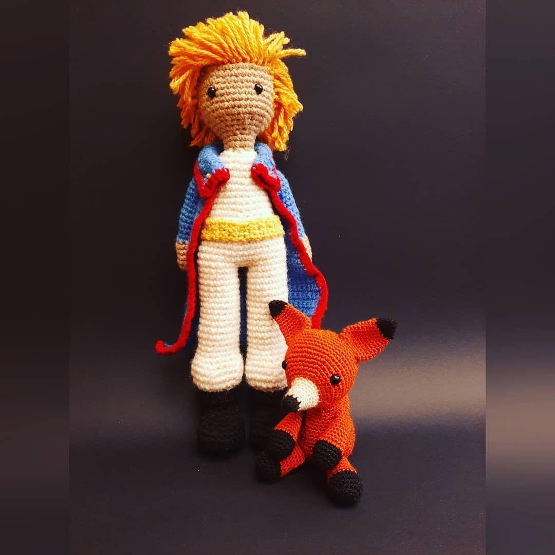 Amigurumi de Zorro del Principito #crochet #crochetlove #fox ... | 1080x1080