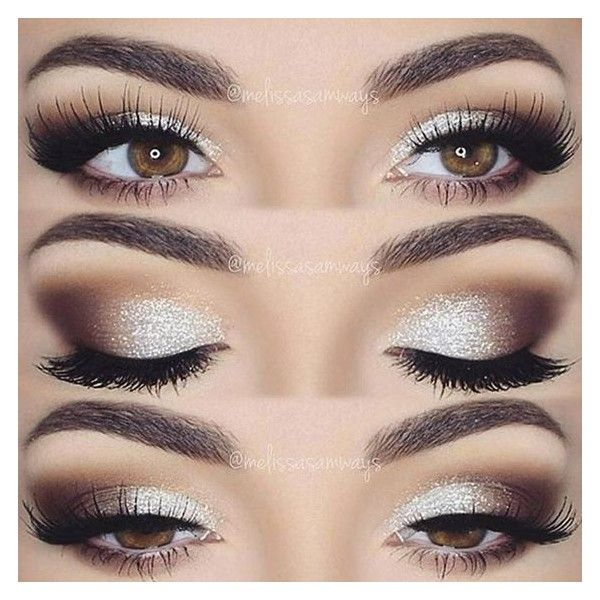 9 Color Glitter Eye Shadow Palette Set And Mascara Liked On