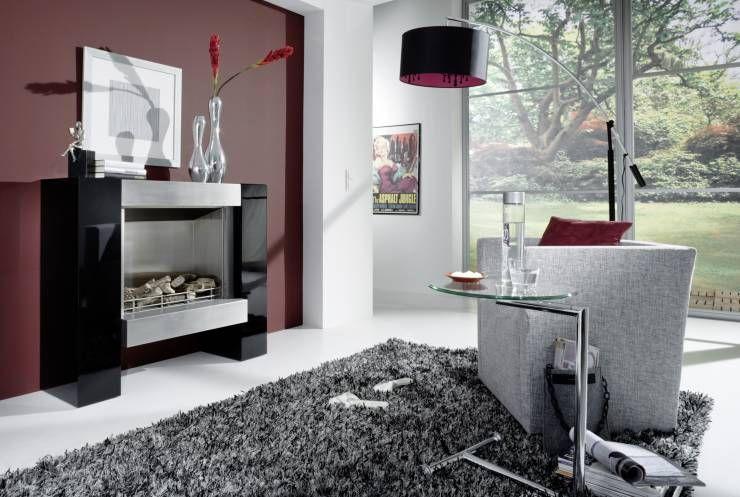 Moderne Kamine - Elektrokamine + Ethanolkamine by Kamin-Design GmbH - wohnzimmer ideen kamin