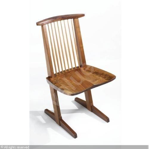 Nakashima, Conoid chair.