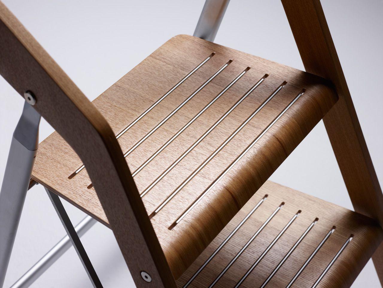 Wondrous Usit Stepladder Maarten Olden Stepstool Ladder Stool Chair Caraccident5 Cool Chair Designs And Ideas Caraccident5Info