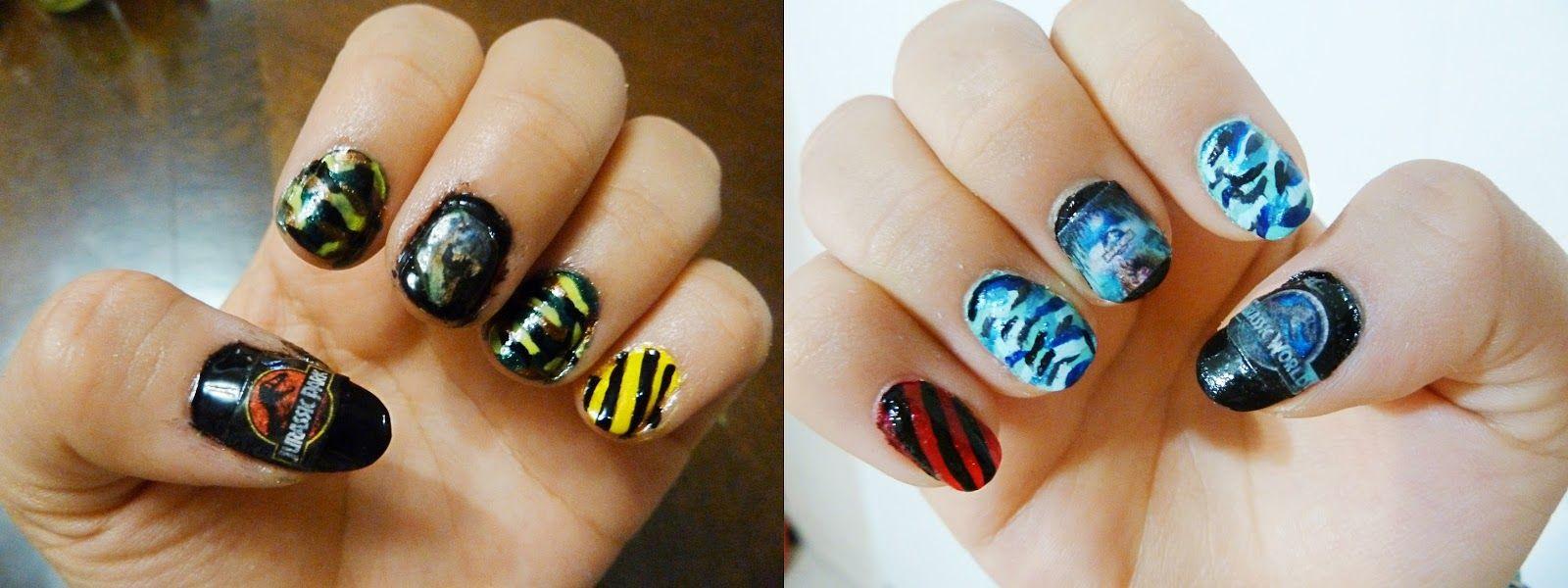 Heavenly Mess: Jurassic Park & Jurassic World Nails   My nail art ...