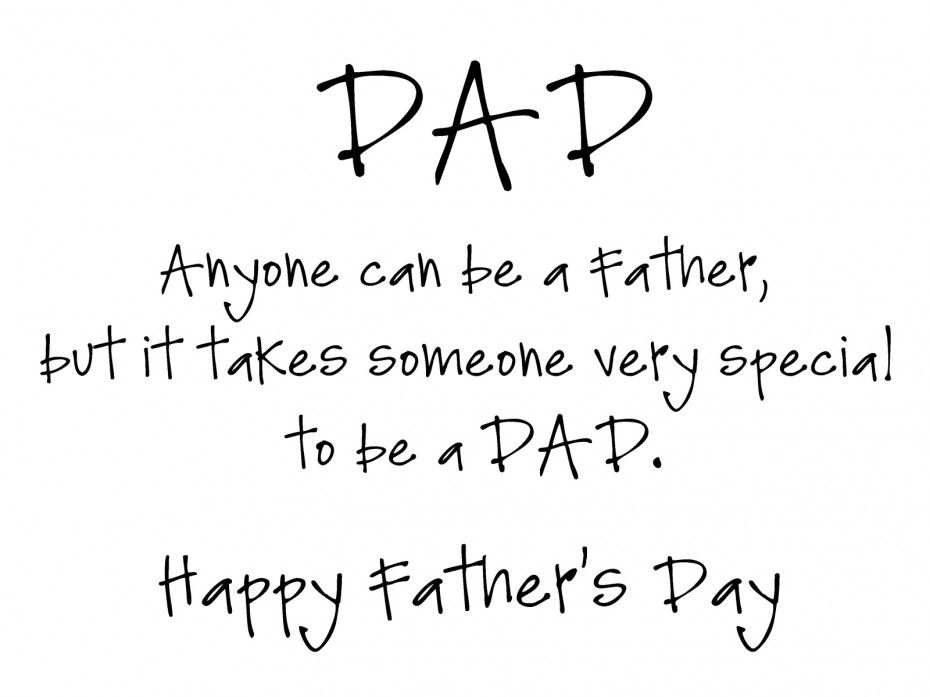 Fathers day Sayings from kids Events Pinterest Happy father - blank timeline