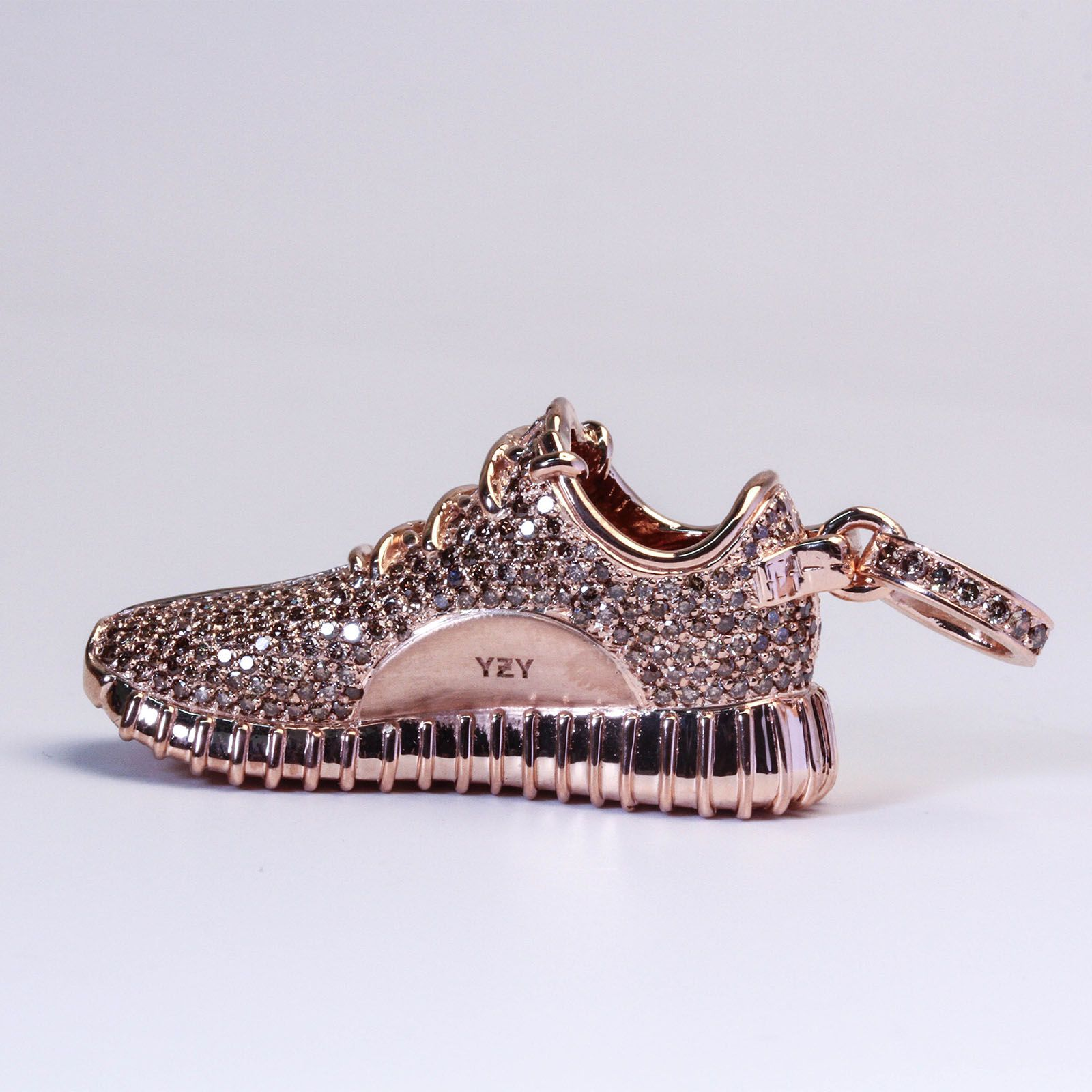 Rose Gold Adidas Yeezy Boost 350 by Ben Baller