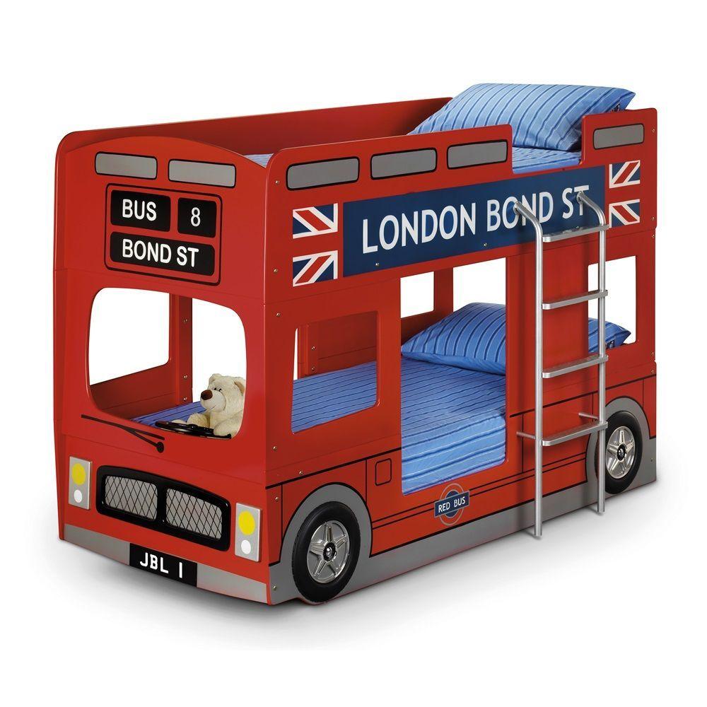 London Bus Unique Toddler Bed For Boy Modern Unique Toddler Beds