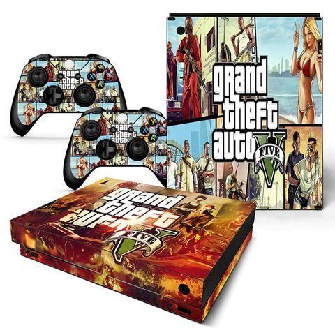 Gta V Sexy Bikini Girl Mafia Armed Gangsters Xbox One X Skin