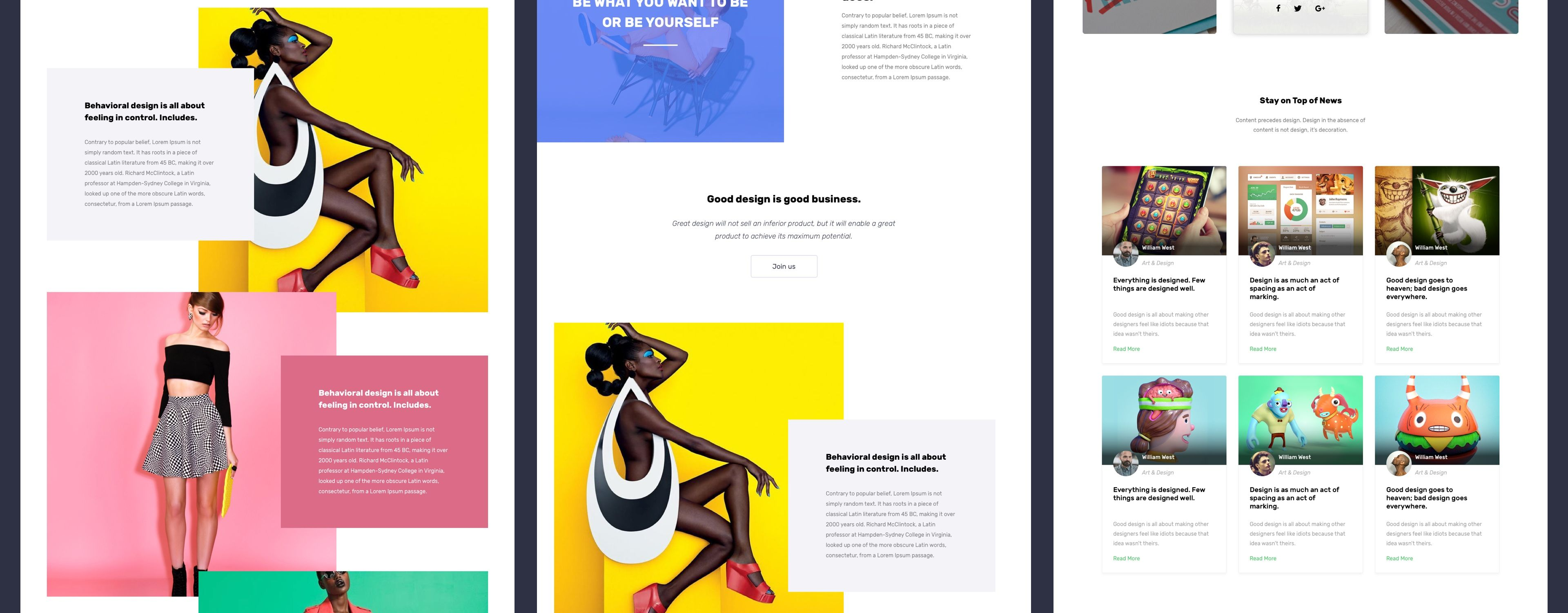 webdesign #web #design #UI #UX #inspiration #creative #layout ...
