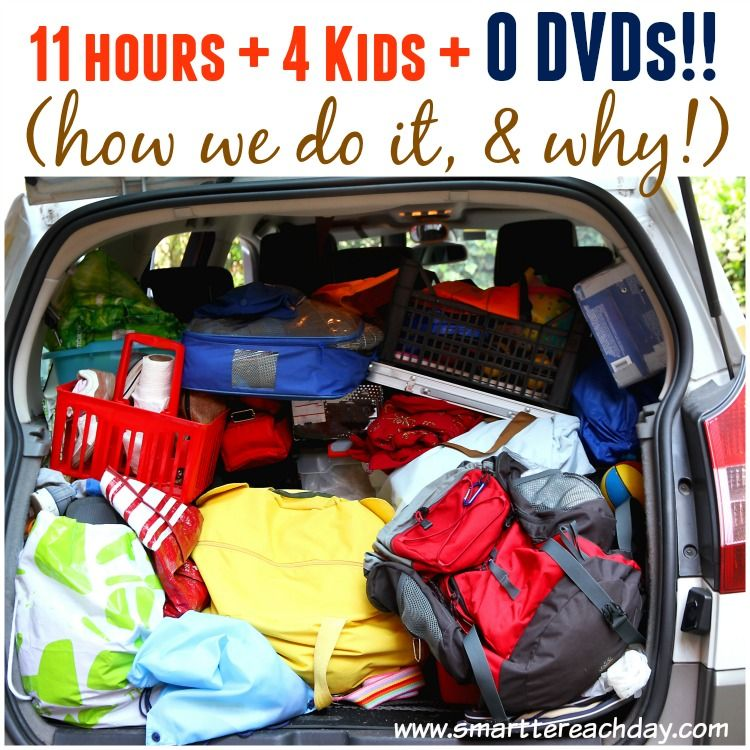 Car Trips 11 Hours 4 Kids 0 Dvds How We Do It Travel