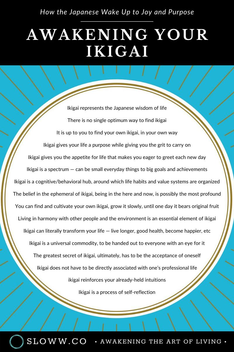 Detailed Book Summary Of Awakening Your Ikigai By Ken Mogi Book Summaries Awakening Purpose Quotes