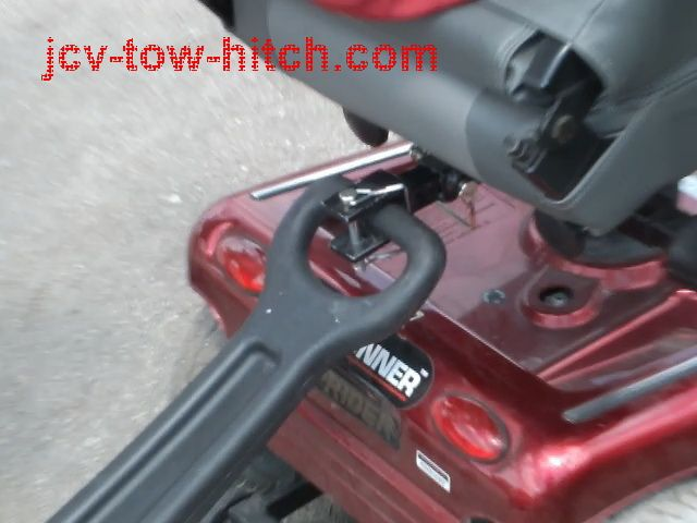 Jcv Tow Hitch Electric Mobility Scooter Towing Wagons Trailers