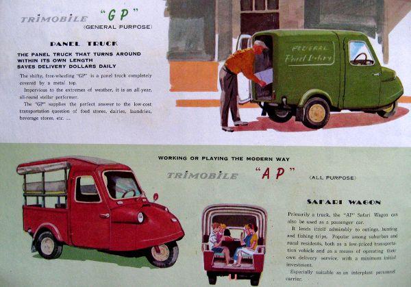 Brosur Trimobile Daihatsu Midget With Images Daihatsu Panel