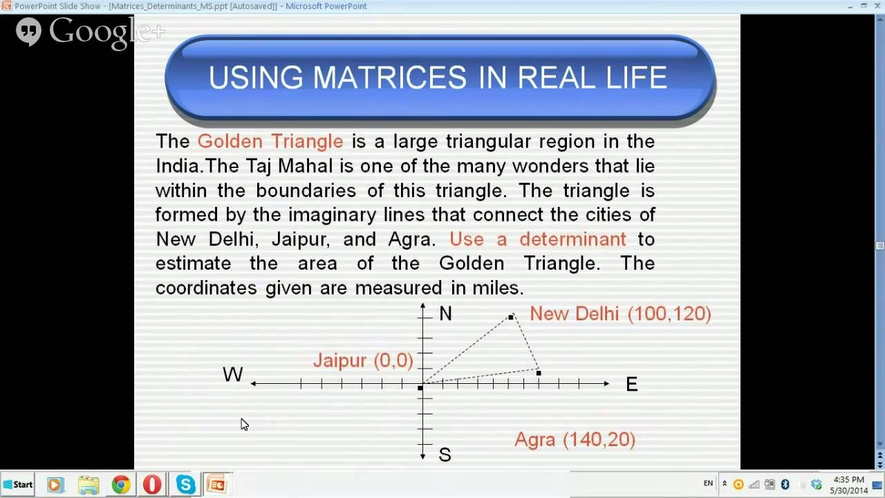 How are matrices used in real life?