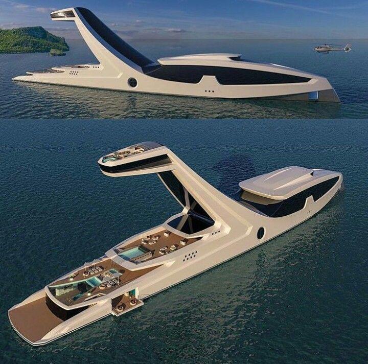 pingl par farah sur archid es pinterest bateaux bateaux de luxe et voilier. Black Bedroom Furniture Sets. Home Design Ideas