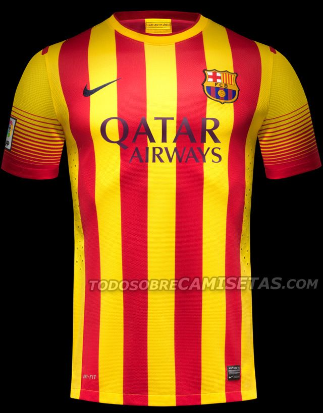 Todo Sobre Camisetas  OFICIAL  Nuevas Camisetas  Nike del  FC Barcelona  Barcelona 2013 2014 f50f46026bc