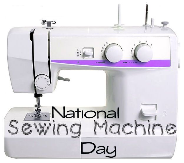 June 40 Is National Sewing Machine Day Celebrate Pinterest Extraordinary Sewing Machine Day