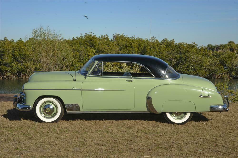 1950 chevrolet bel air 2 door hardtop