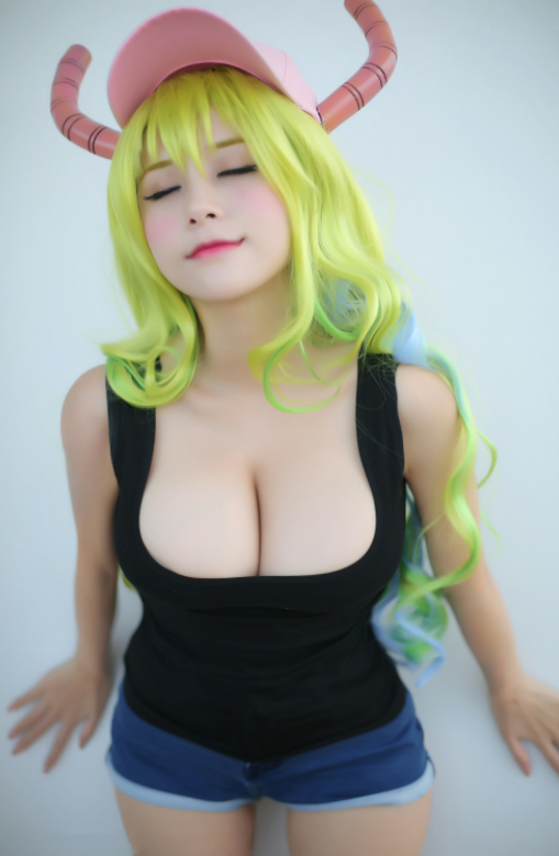 Kobayashi dragon maid lucoa cosplay