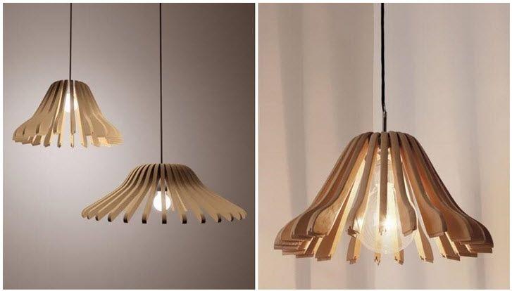 lámparas de techo DIY Lámparas Pinterest