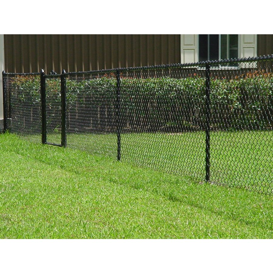 Shop Vinyl Coated Steel Chain Link Fence Fabric Common 50 Ft X 4