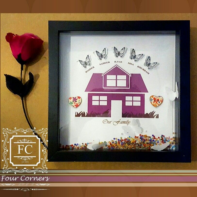 Lovely unique and bespoke Frames, customised to your needs. Each ...