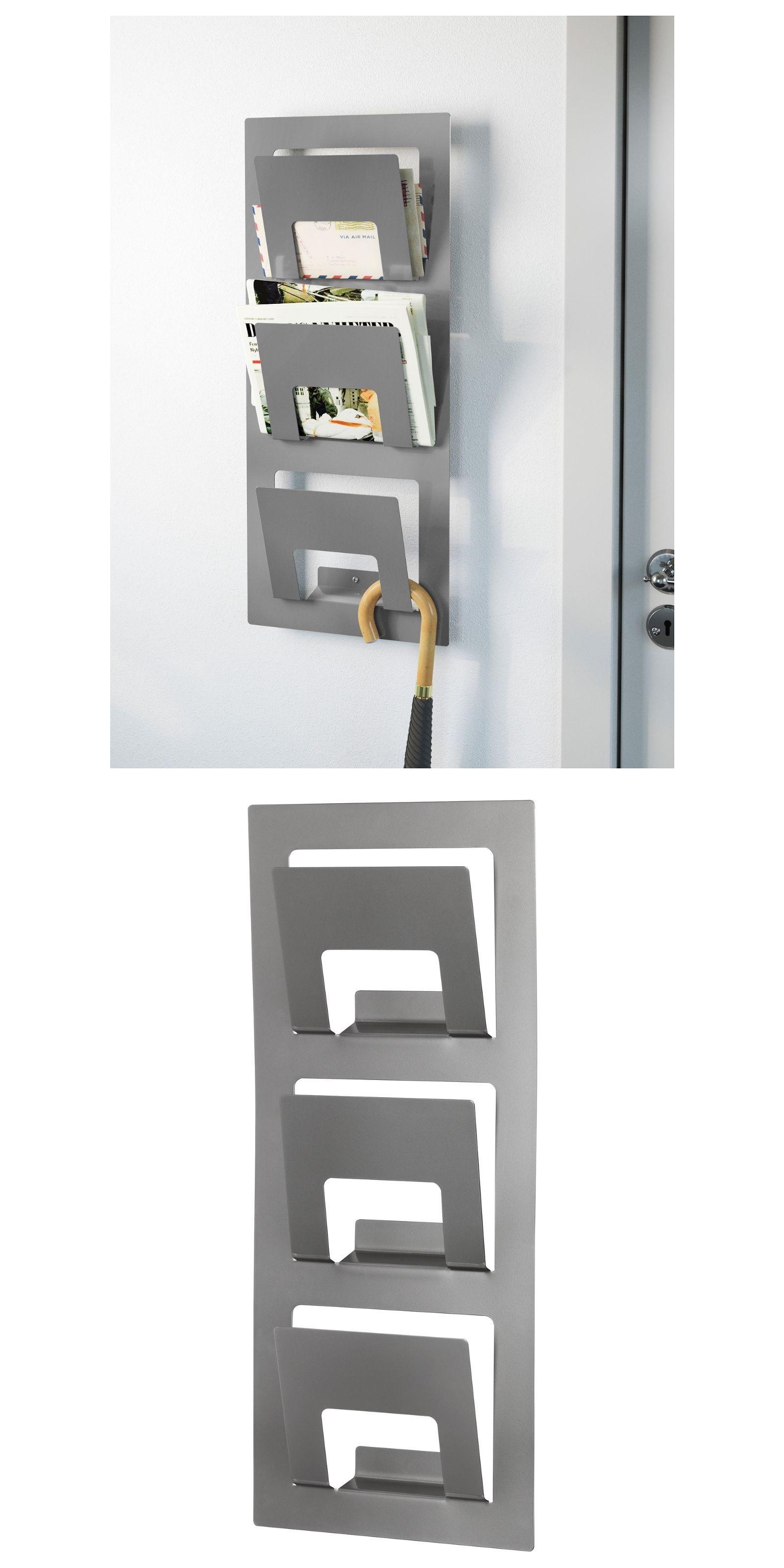 Magazine Racks 38223: 2 Ikea Skrissel Magazine Metal Wall ...
