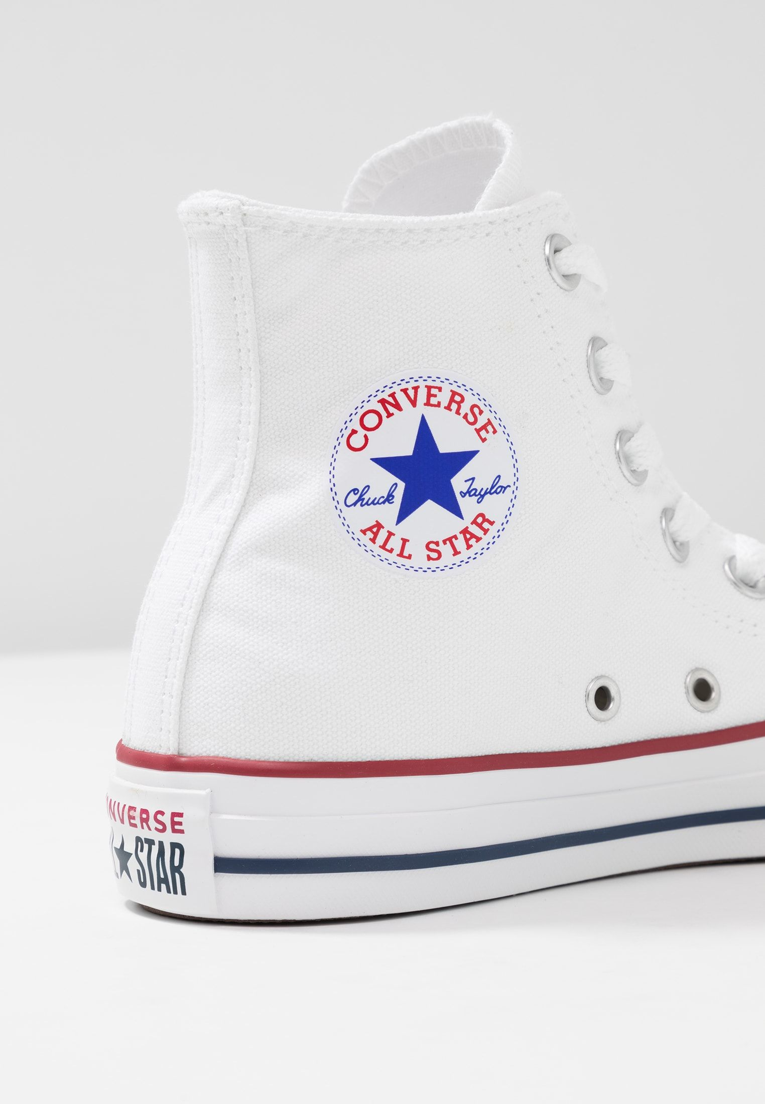 CHUCK TAYLOR ALL STAR HI - Høye joggesko - white @ Zalando ...