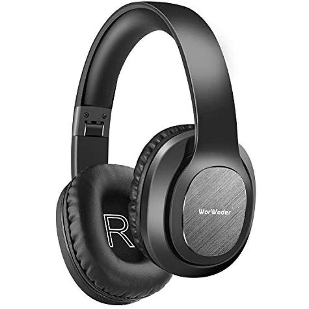 Worwoder Bluetooth Kopfhorer Over Ear 50 Stunden Spielzeit Kopfhorer Mit Hi Fi Bluetooth Headphones Wireless Headphones Headphones