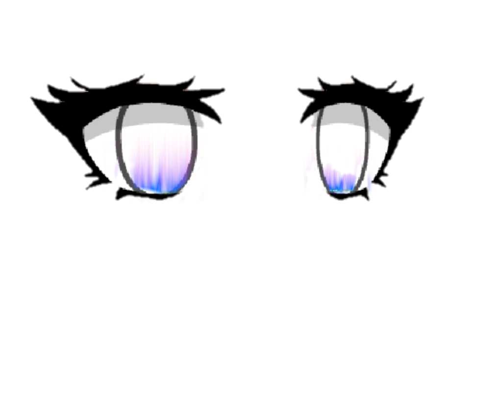 Gacha Life Eyes Olhos desenho, Desenhar caricaturas de