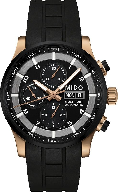 16d2a2a5d27a Mido MULTIFORT VALJOUX M0056143705709 Herrenchronograph