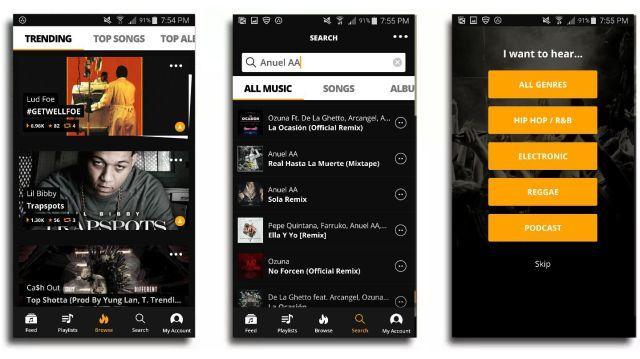 Audiomack Free Music Downloads v3.1.2 [Desbloqueado] Hip
