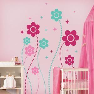 Vinilos decorativos paredes fantas a floral vinilos - Decoracion habitacion bebe vinilos ...
