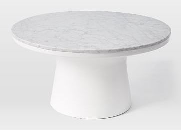 18 White Marble Coffee Tables We Love Awesome Design