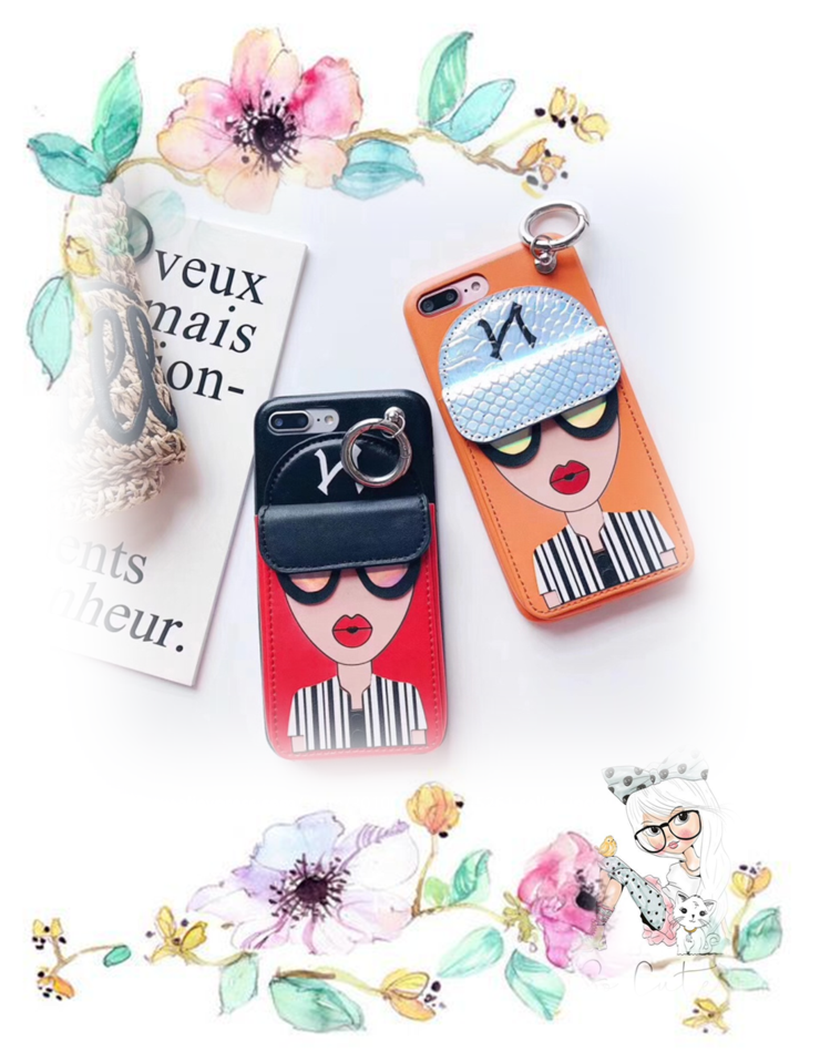 81f12c5266dc Fashion brand design Cute Korean Glasses red lips Girl Silicone case for  iPhone  iphone  iphonecases  phonecases  phone  cute  korean  fashion  gifts