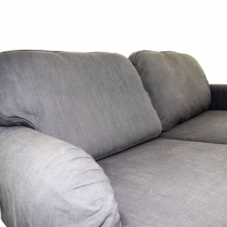 Luxury Ikea Microfiber Sofa Lovely 75 Off Stocksund Grey Loveseat Sofas
