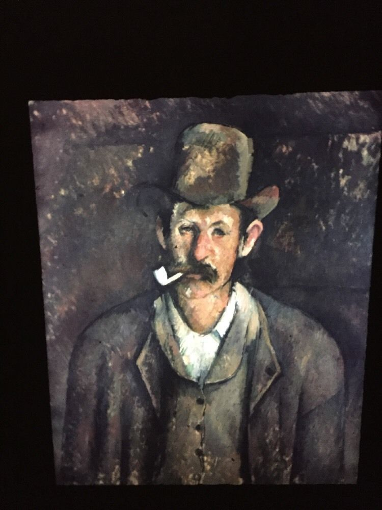 "Paul Cezanne ""Man With A Pipe"" French Post-impressionism 35mm Art Slide  