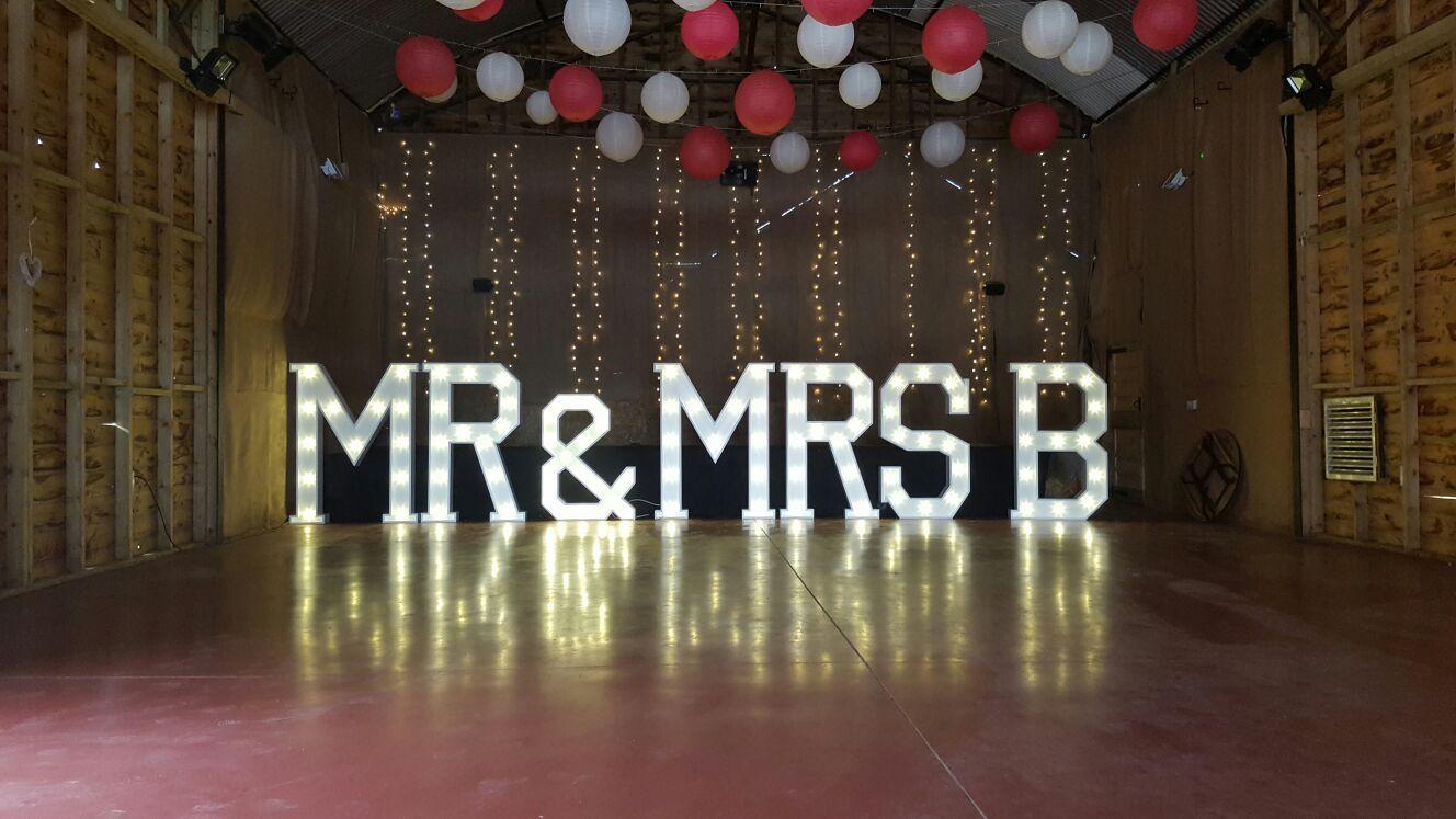 Pin by Nisha on Mr. & Mrs. Light up, Wedding decorations